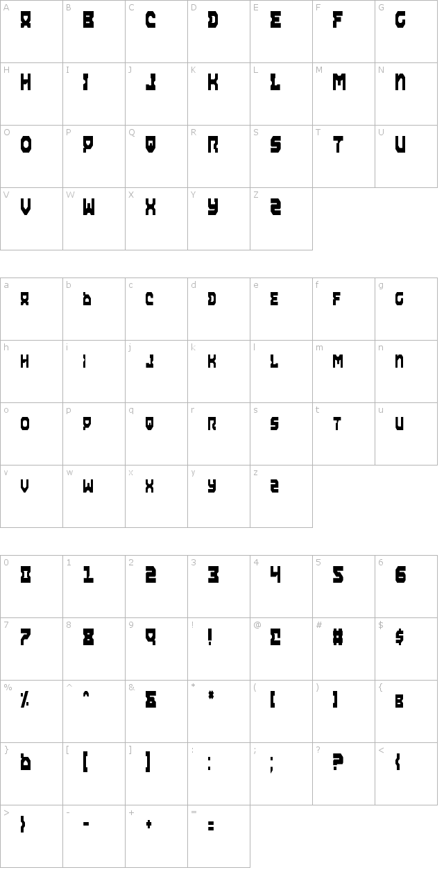 Airacobra Condensed Font