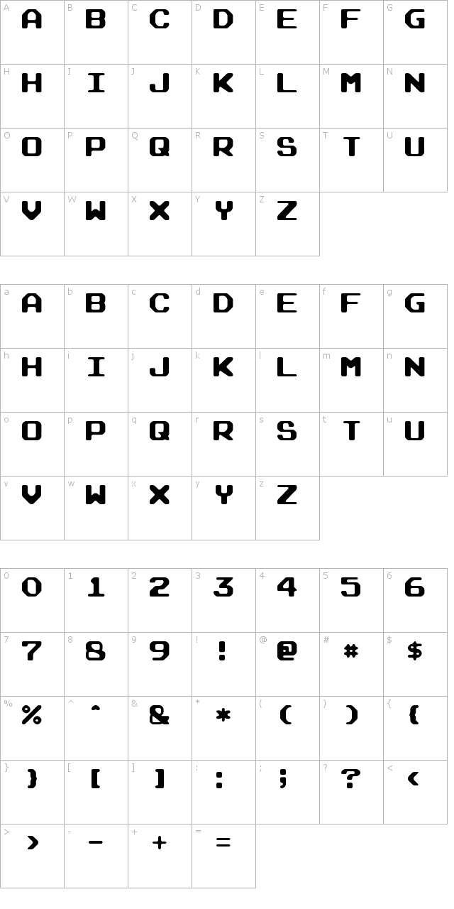 Arcade Rounded Font
