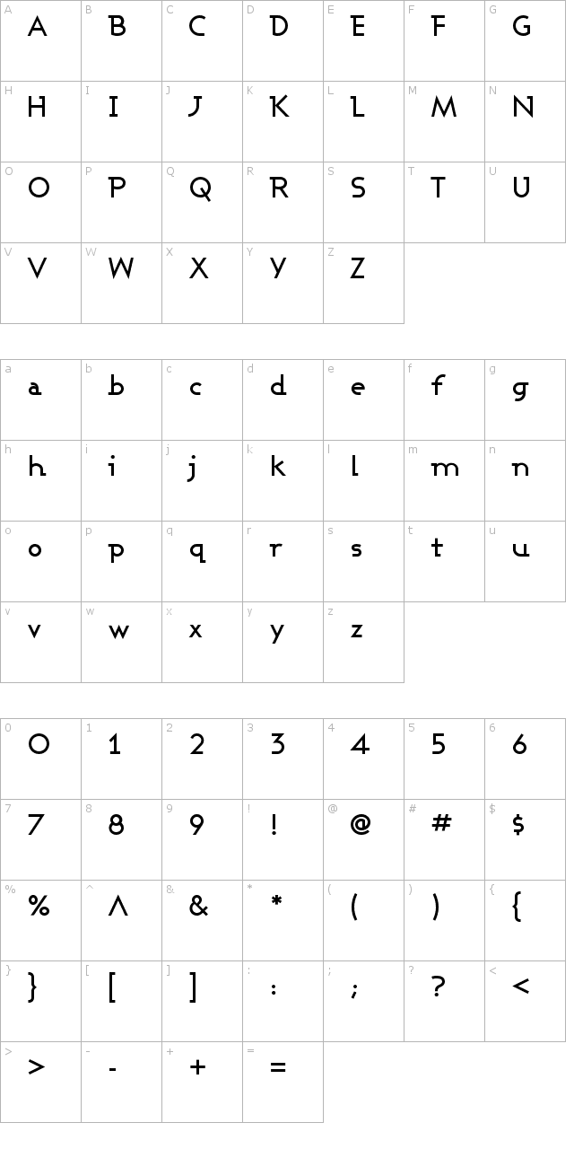 Ashby Medium Font