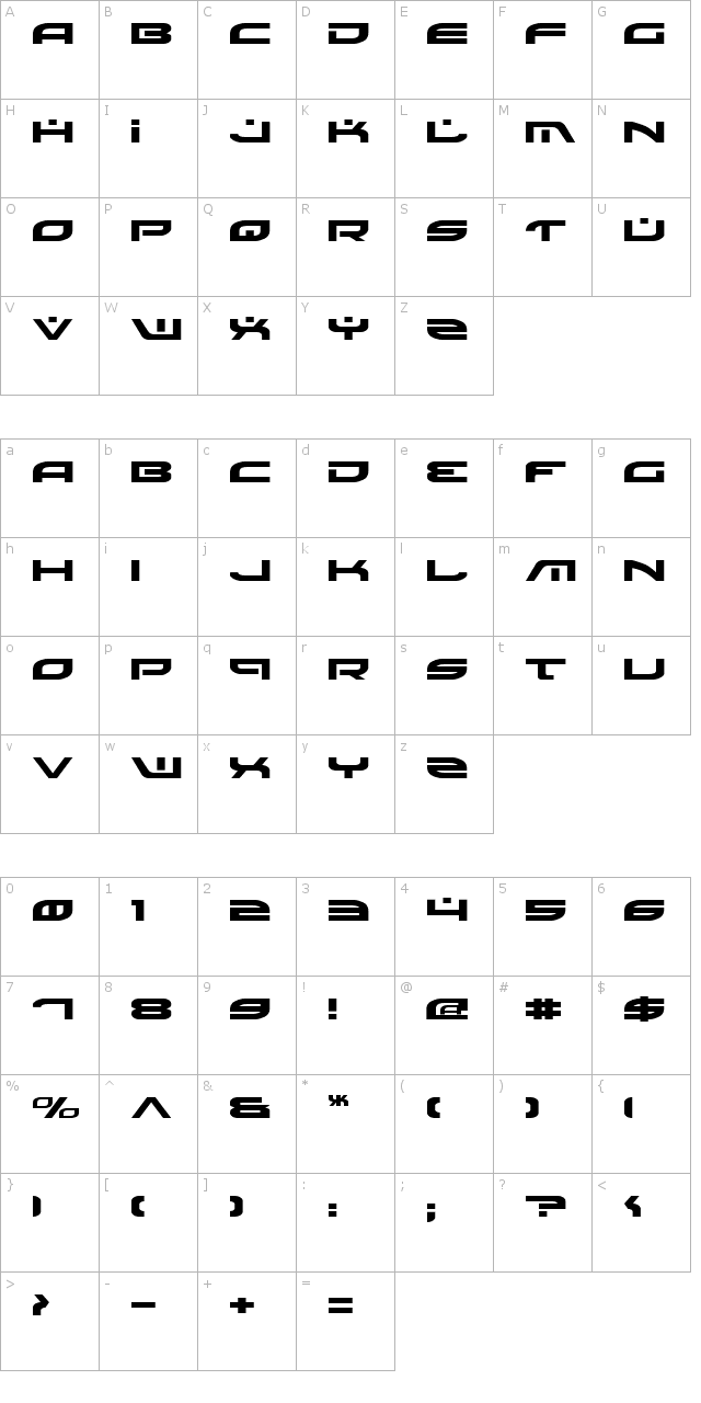 Battlefield Expanded Font