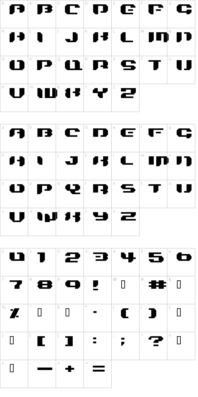 Bionic Kid Simple Font