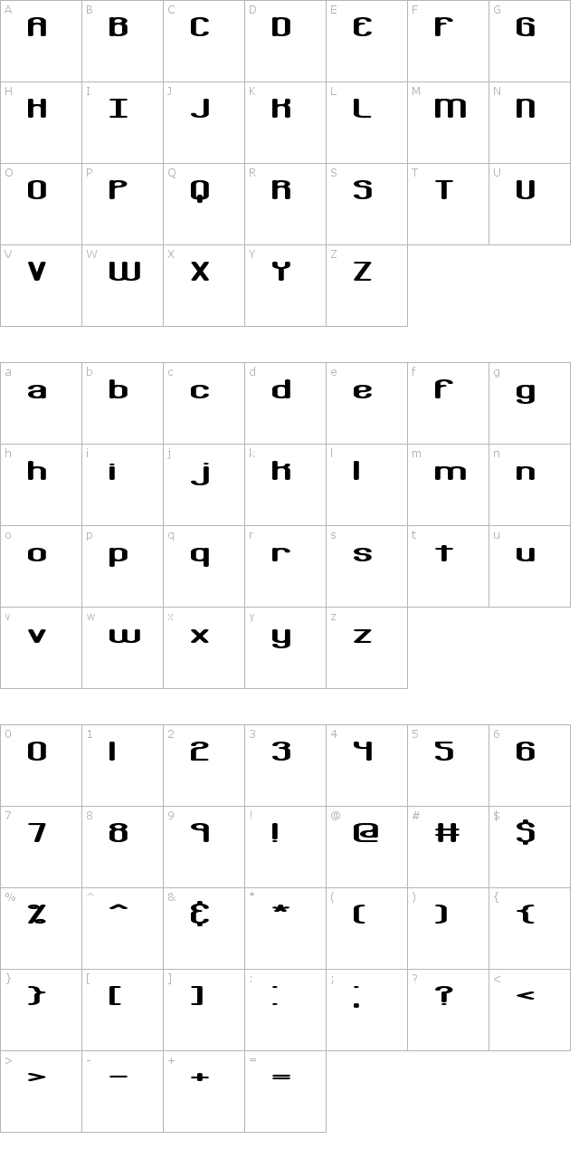 Bobcaygeon (BRK) Font