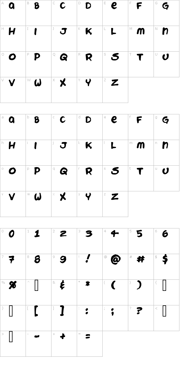 Chattery Teeth Font