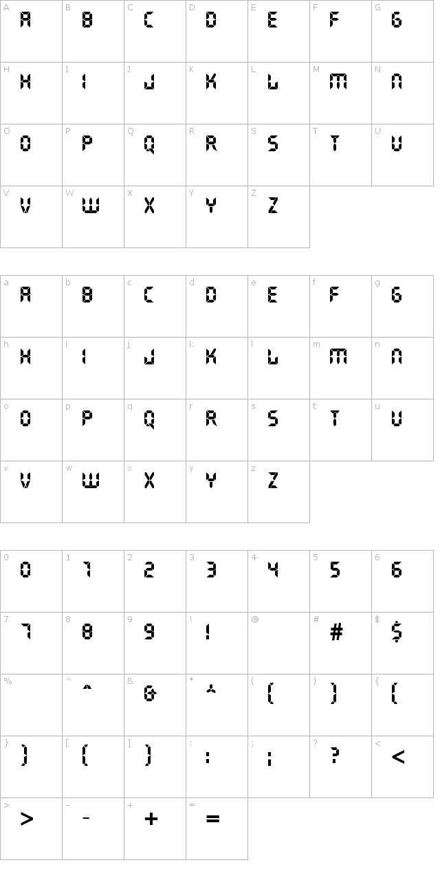DS Crystal Font