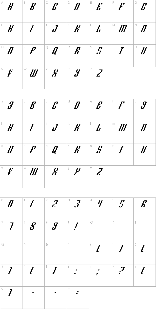 Department H Font