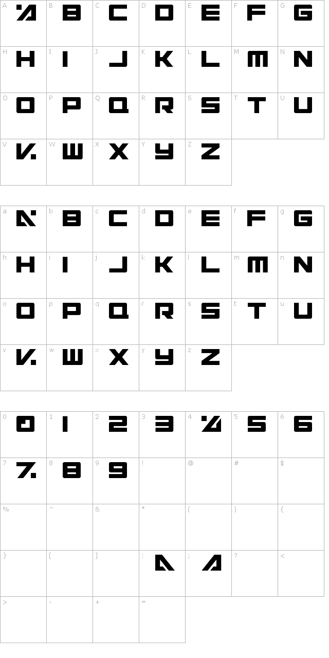 Electric Toaster Font