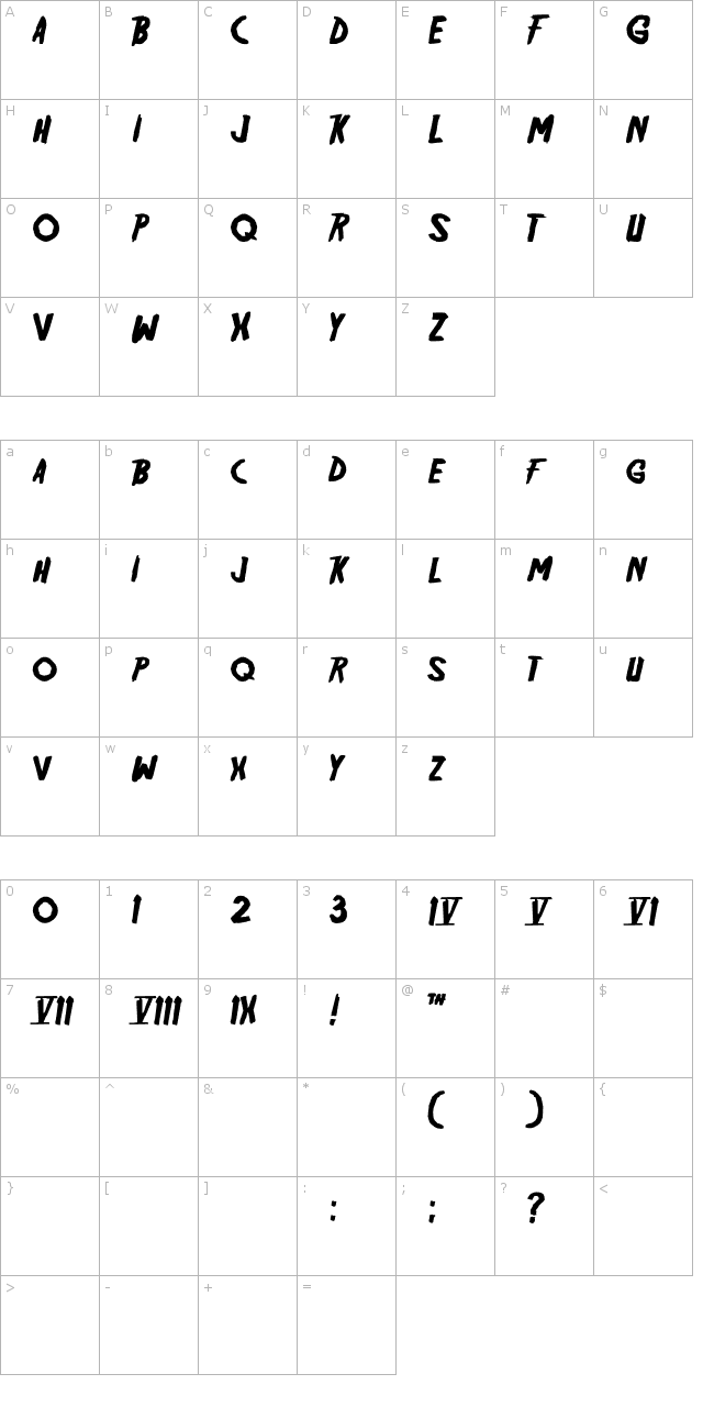 Friday13 Font