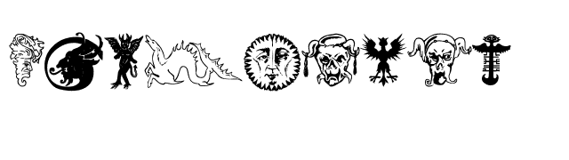 Devils and Dragons Font