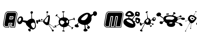 Alien+Mushrooms Font