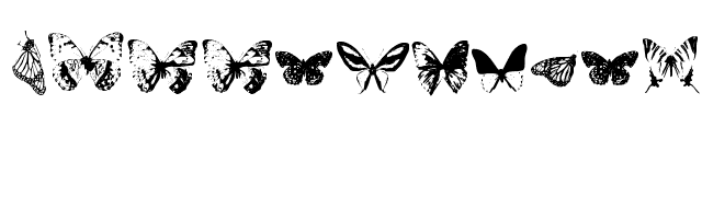 Butterflies+by+Darrian Font