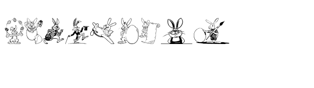 Easter+Bunny Font